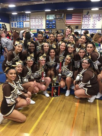 Cheer brings home the gold