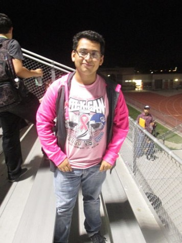 """Ronaldo Angulo is currently a Junior at Don Lugo. He firmly spoke against Andrew Cruz, Vice President of CVUSD Board Of Education, crude comments. Angulo states, """"To sum it up in a few words though, all I heard was ignorance, intolerance, and bigotry."""""""