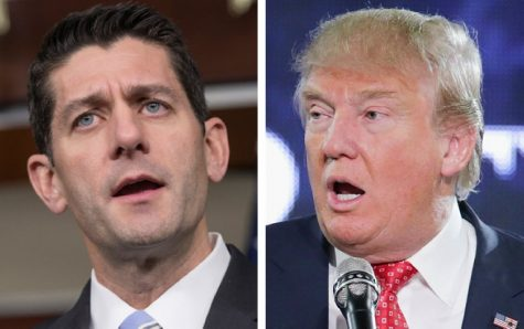 Speaker of the House, Paul Ryan speaks out about his hesitation over a Trump Administration but Trump fires back.