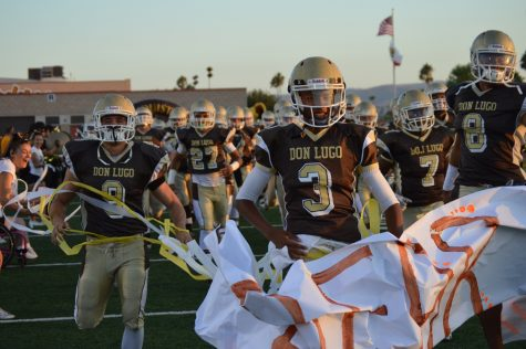 The team's runs in for their first game of preseason against Warren.