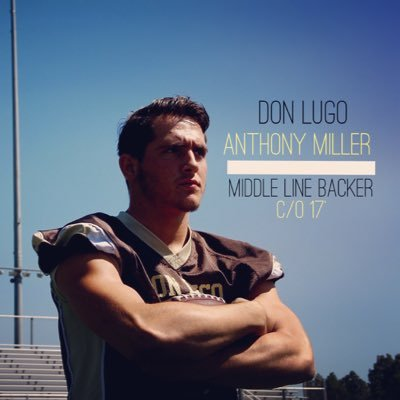 Senior, Linebacker, Anthony Miller, takes on his nomination for SoCal Preps Legend with the support of his Lugo Family.