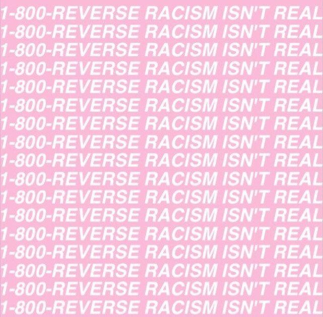 Why reverse racism doesn t exist