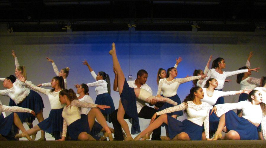 The Dance 2 class comes to the end of their performance with a striking finish. This year the Winter Dance Show presented raw talent each night. All dancers were exhilarated and happy about what they have accomplished this year and cant wait for their next endeavor.