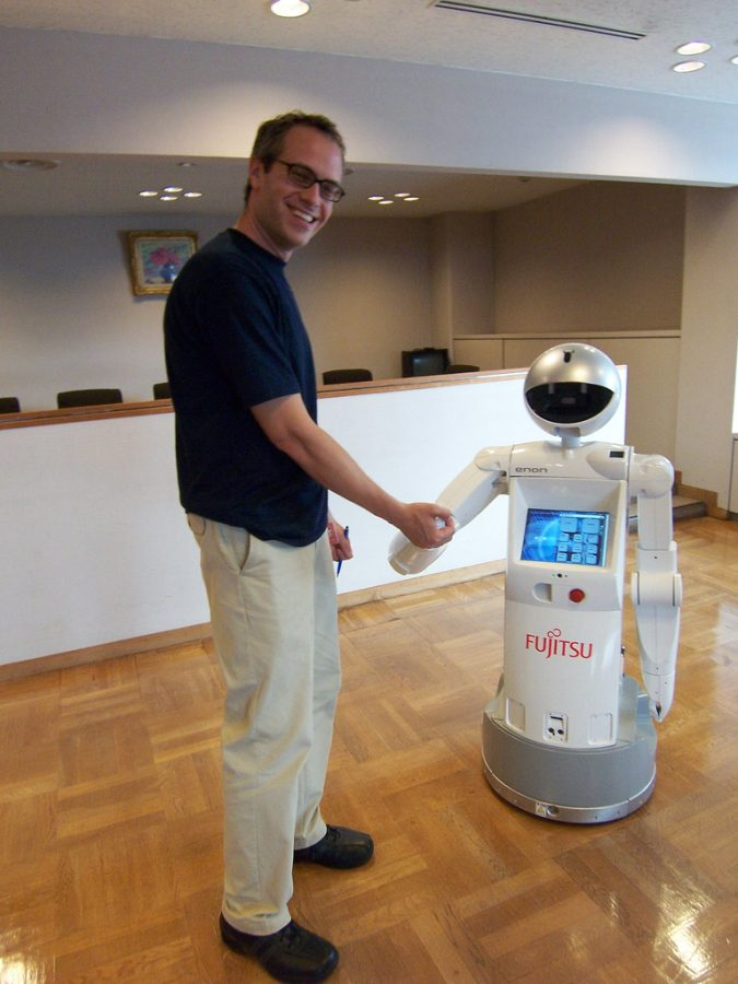 Changes in curriculum in multiple schools around the world may show the future of education. Learning with the help of robots and drones is no longer science fiction and it is proving to be very effective. Image above shows the ability of humans being able to interact with robotic technology.