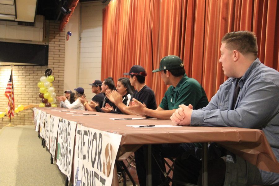College Committed Athletes well Represent Don Lugo on Signing Day