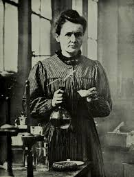 The last time I checked, Marie Curie was not famous for her makeup.