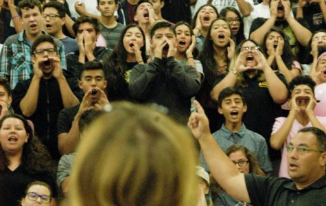 Juniors give seniors a run for their money at their first rally of the year. Junior, John Aguirre, comments,