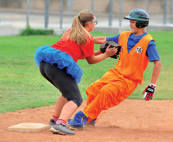 Trick or Treat? Baseball vs Softball Costume Game is a Treat for Lugo Sports Fans
