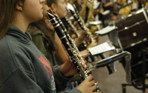 Lugo Band Makes Themselves Heard at Fall Sports Rally
