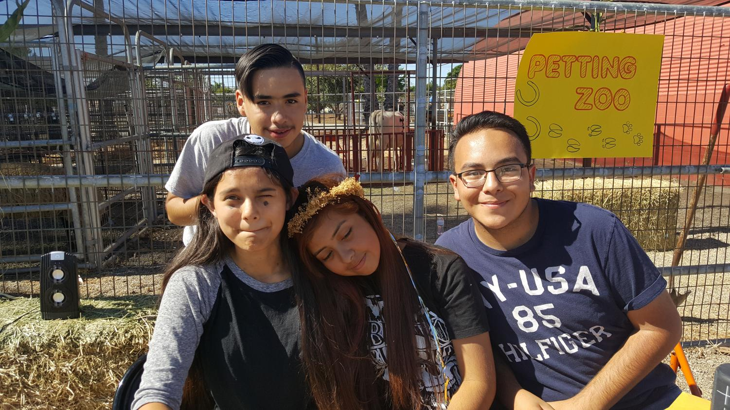 Students from Don Lugo Agricultural classes participate in helping the FFA with their Fall Festival. FFA had their first annual Fall Festival with the help of their students. Photo courtesy of Mrs. Ashley.
