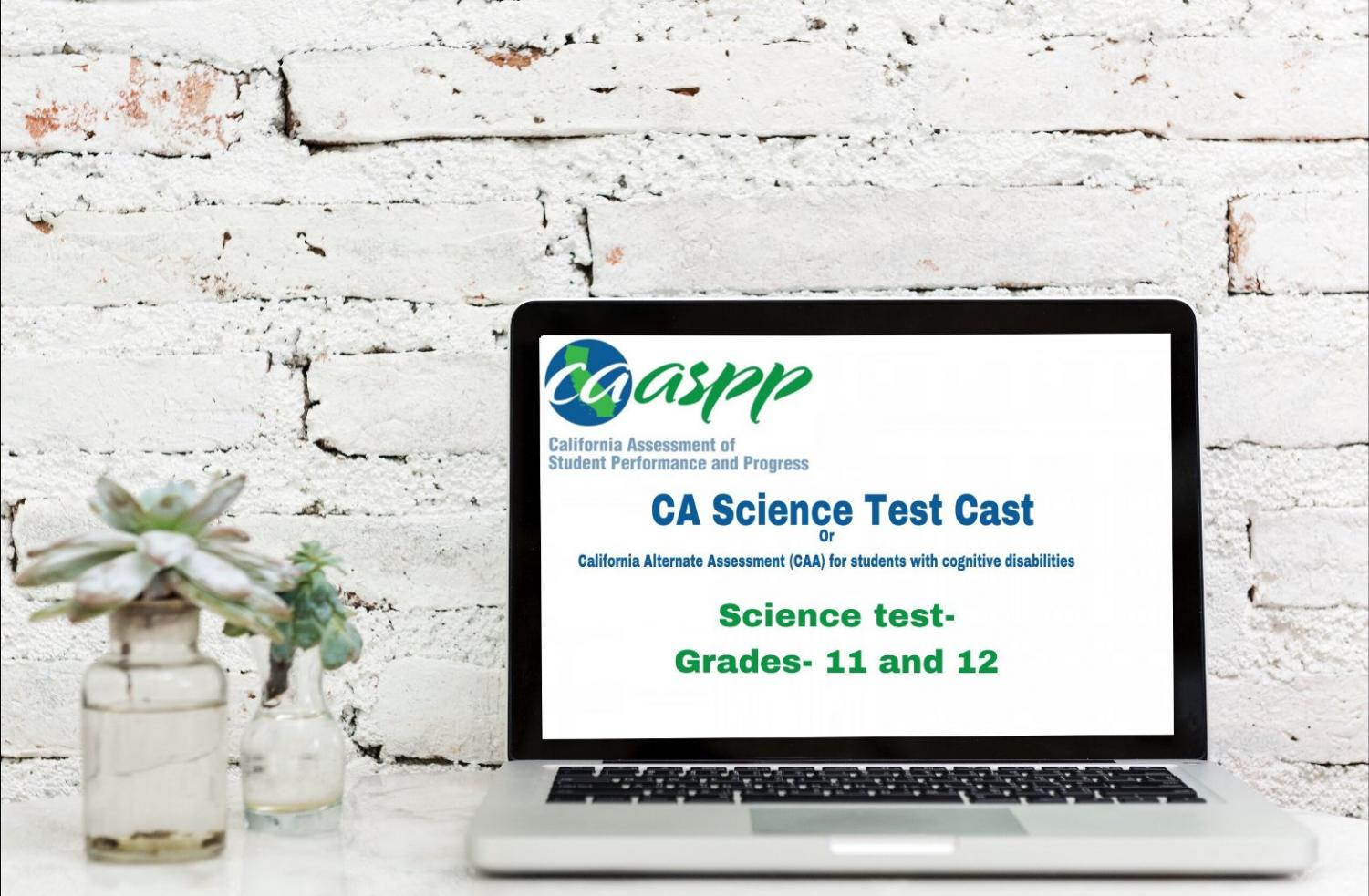 Seniors to take new standardized science test on April 16th.
