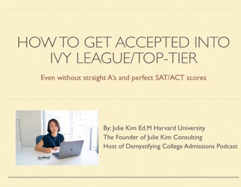 How to get in to an Ivy league college