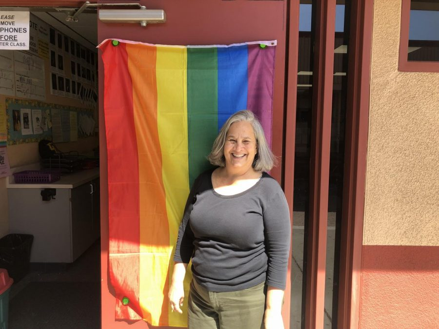 Teachers who are allies of the LGBTQ+ community and GSA club