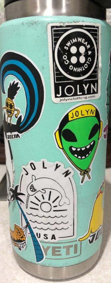 Lugo kids love stickers on their Hydro Flasks!