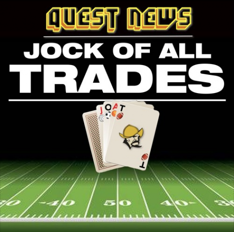 "Visit Quest News on Sound Cloud to hear our podcast show, ""Jock of All Trades"" hosted by Diego Cruz and Gary Carcia."