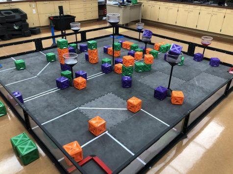 Robotics Club wins their tournament