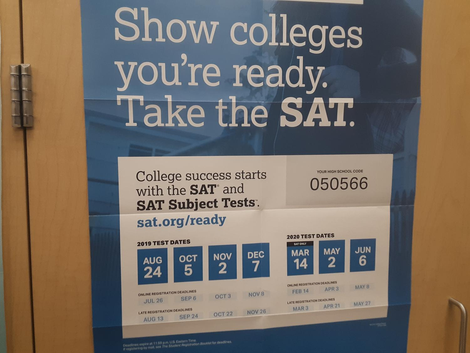 The SAT is coming up, but there is an alternative for students worried about their performance.