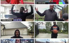 All 8 contestants of the NBA H.O.R.S.E. tournament get together on live camera as they shoot their shots.