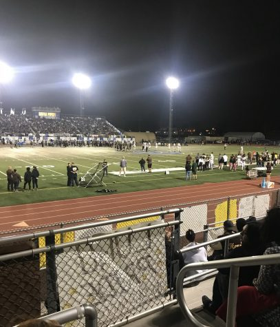 Picture of Don Lugo football game from he stands. (Photo Courtesy of Dylan Young)