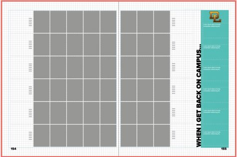 A spreadsheet of empty portrait photos that are yet to be filled with student pictures. (Photo courtesy: Camila Aguero- Salas)