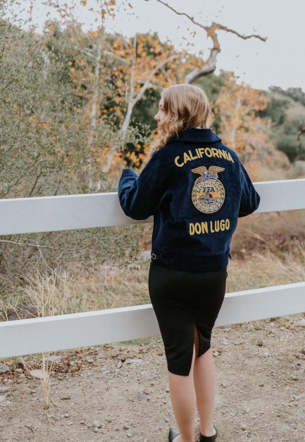 Sydney+Marich+has+her+back+turned+from+the+camera+showcasing+her+FFA+jacket+while+overlooking+a+scenic+view.+When+things+were+going+south+I+had+to+look+past+that+and+think%2C+okay+everyone+else+is+experiencing+this+as+well%2C+its+across+the+board%2C+so+Im+not+alone%2C+says+Sydney.
