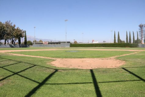 The Joe Marcos Baseball Field awaits for the team to play in Spring 2022