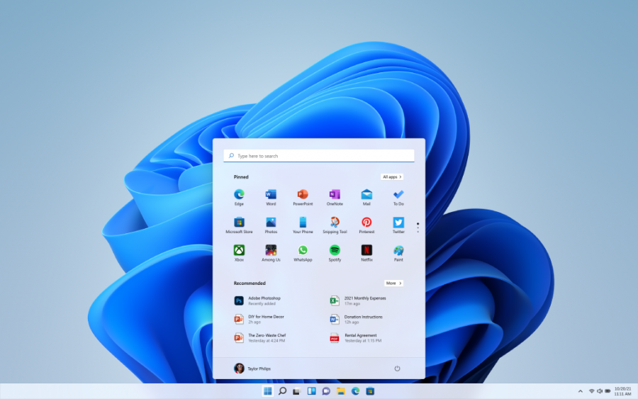 Windows 11 has simplified the design and user experience with a modern, fresh, clean, and beautiful look, according to Microsoft.